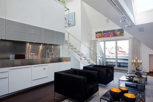 amazing contemporary loft apartment interior design