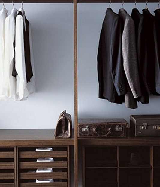 amazing walk-in closet storage organization design
