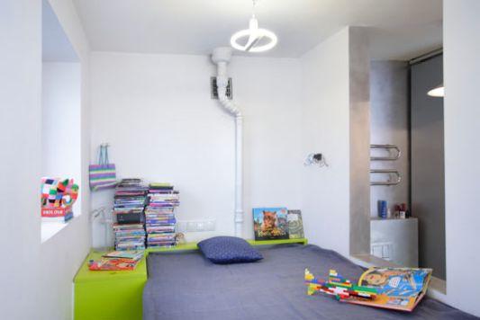 apartment interior decor like playground