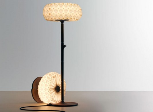 Artistic And Beautiful Traditional Origami Floor Lamp Design