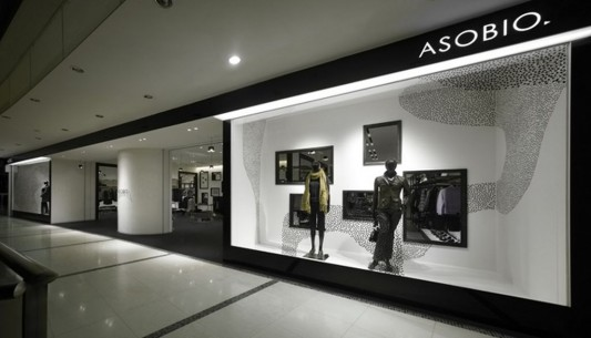 asobio fashion shop interior design