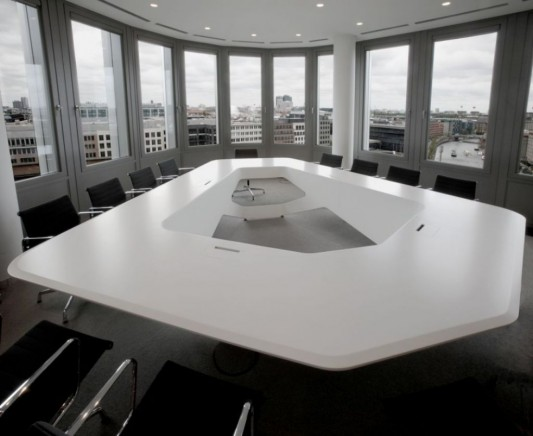 Black And White Modern Office Conference Room Ideas Home