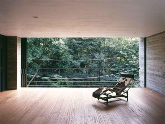 atelier in tsurumi contemporary house lounge room