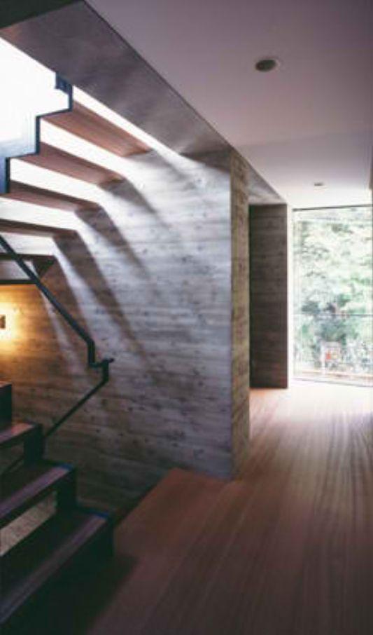 atelier in tsurumi urban contemporary house stairs design