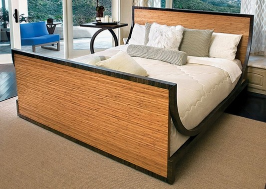 bamboo furniture bed with healthy environmental commitment