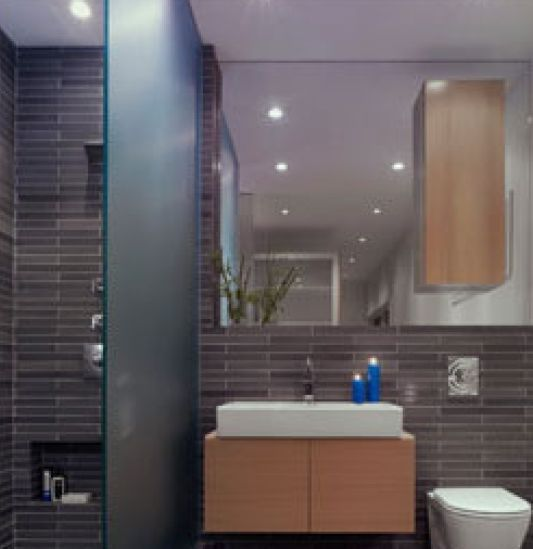 bathroom design ideas at house in fire island