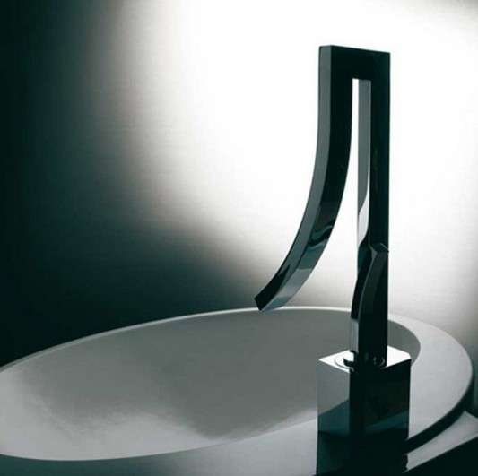 beautiful modern bathroom faucet design
