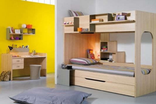 be bop child room furnitur with yellow color