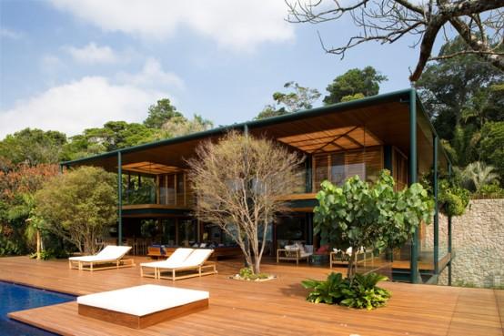 beach house minimalist design