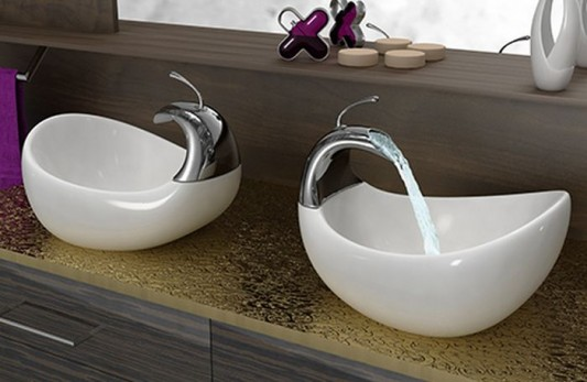 Unique Vessel Sinks With Beautiful And Interesting Design By Amin Design Home Design Inspiration
