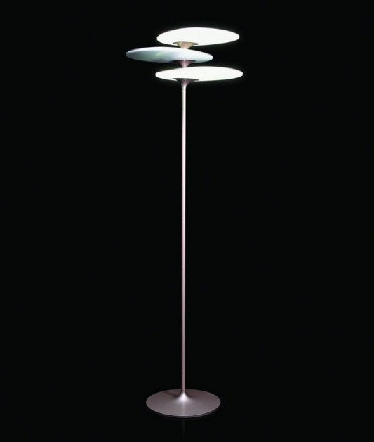 beautiful coral floor lamps modern design with LED light