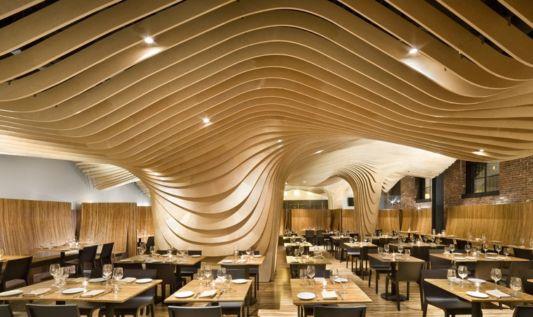 beautiful resstaurant interior design