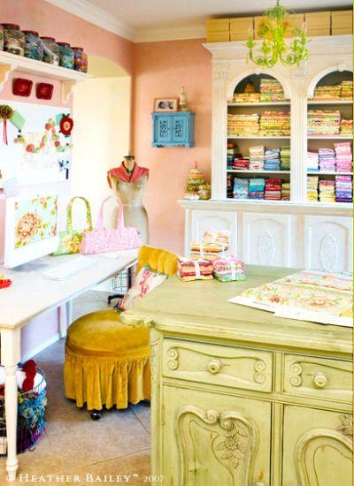 beauty work room design