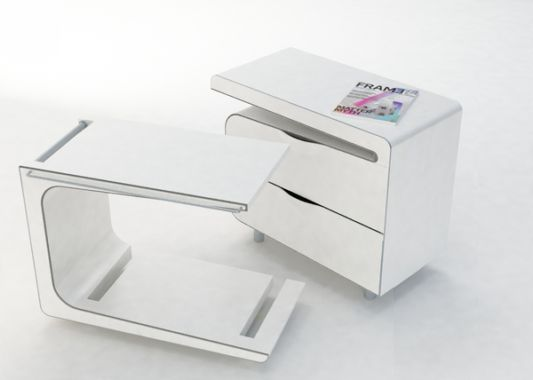 bed table design can be removed from the cabinet