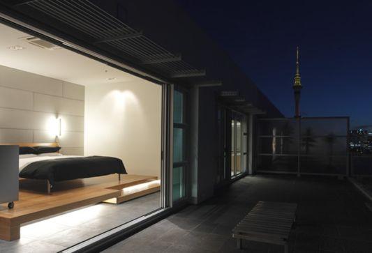 bedroom design in feigin apartment