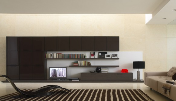 black and beige family room design color