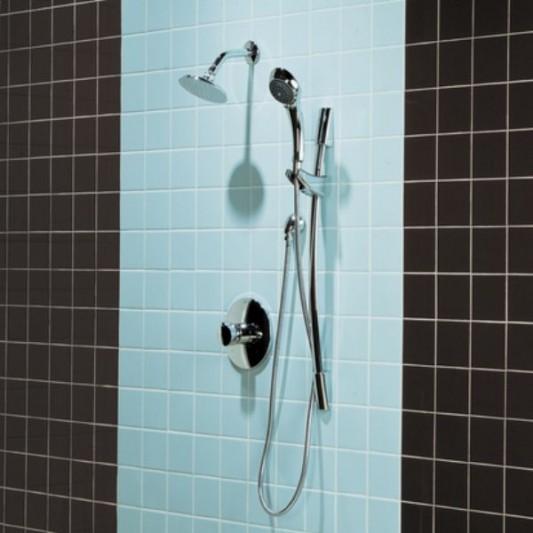 How To Clean Bathroom Wall Tiles Easily: Traditional Bathroom Tiles Design Ideas, American Olean