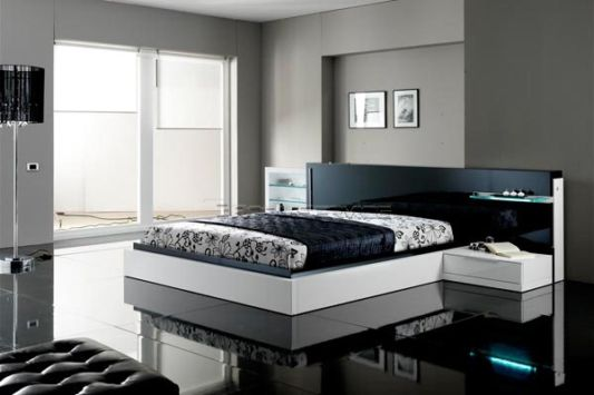 Black And White Bedroom Set Ideas