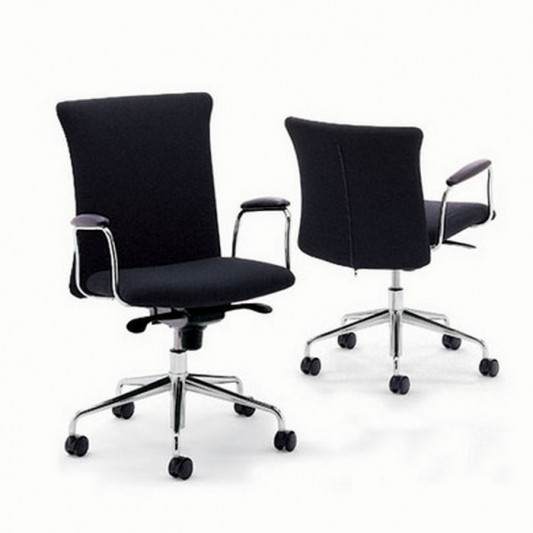 black color option modern comfortable office chair