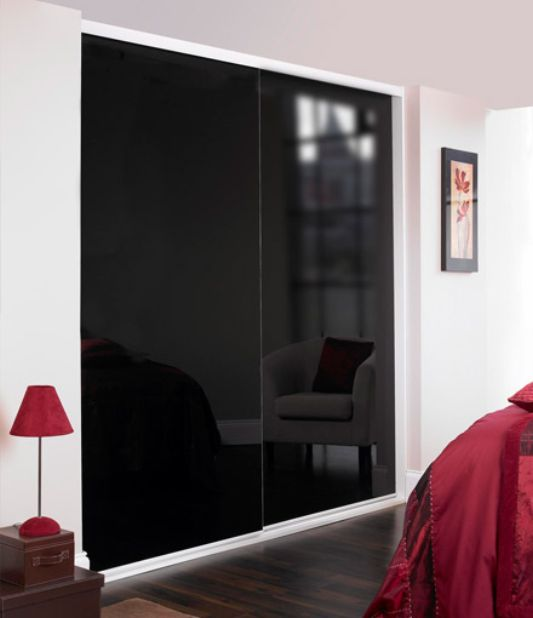 black small wardrobes design, custom modern interior design ideas