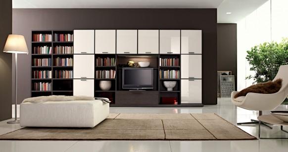bookshelf design ideas in the family room