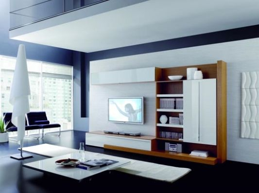 Boss Modern Living Room Wall Unit Ideas