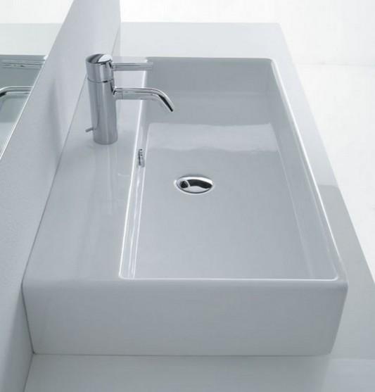 box washbasin modern contemporary design