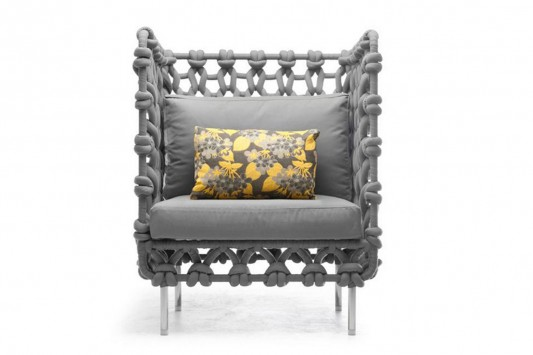 cabaret beautiful high back armchair design by kenneth cobonpue