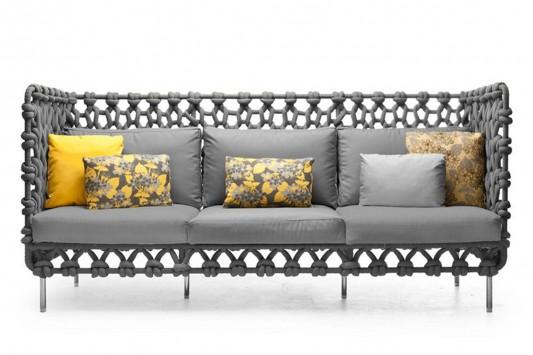 cabaret elegant and comfortable high back sofa