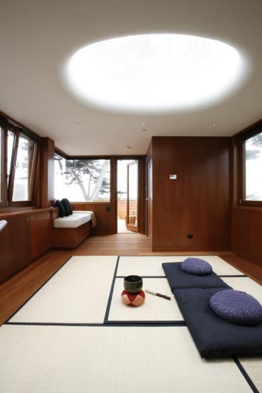 carmel residence wooden interior design
