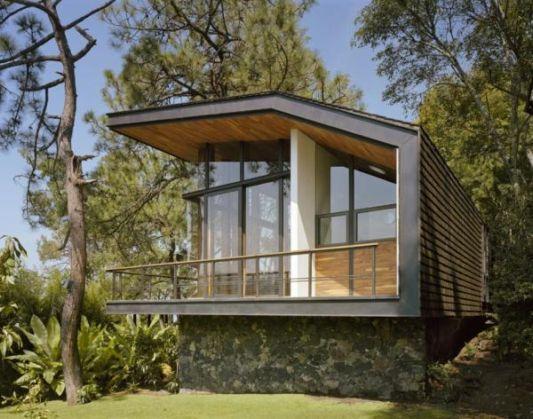 casa en el bosque pavilion design