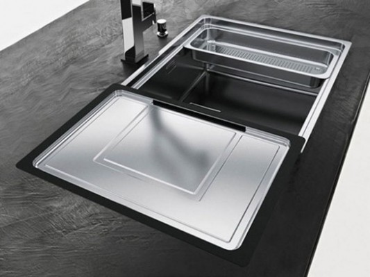 centinox sink great for maximizing space and increasing efficiency kitchen
