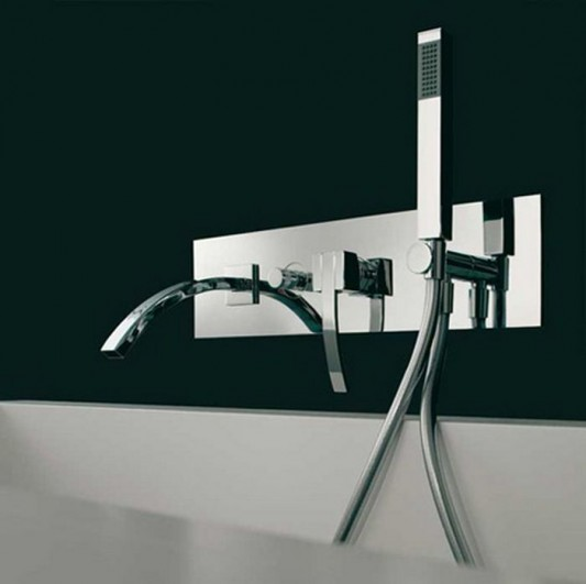 chrome faucet stylish and modern design
