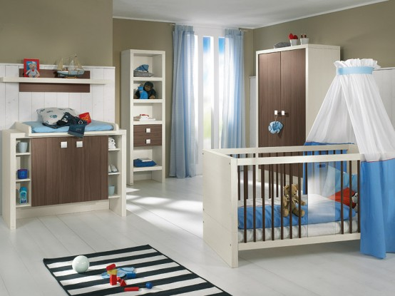 classic baby room concept