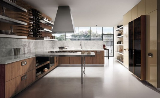 Charmant Classic Contemporary Italian Kitchen Decorating Design Ideas