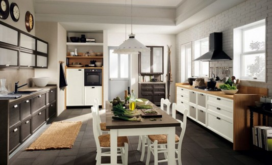 classic contemporary kitchen decorating ideas