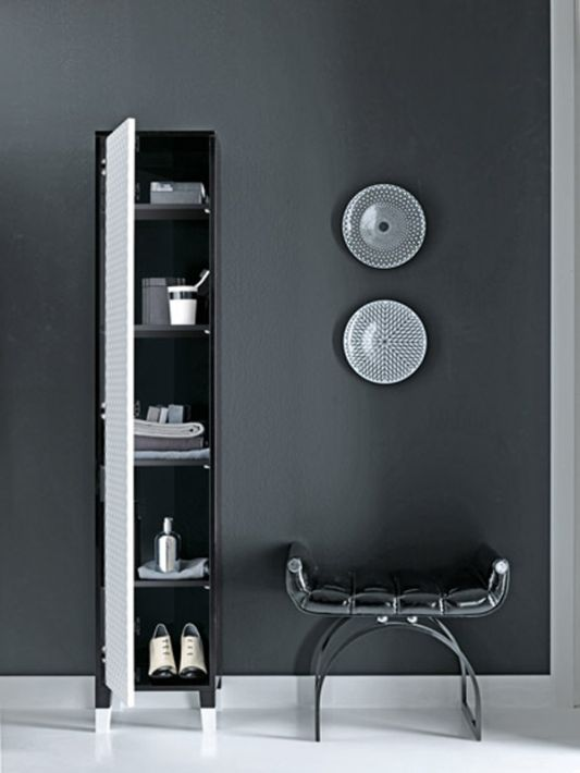 coco collection storage black and white style