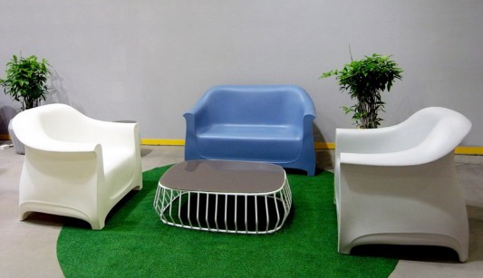 colorful patio outdoor furniture collection by Cilicon Faytory