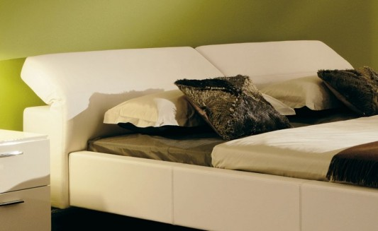 comfortable leather beds with adjustable headboard