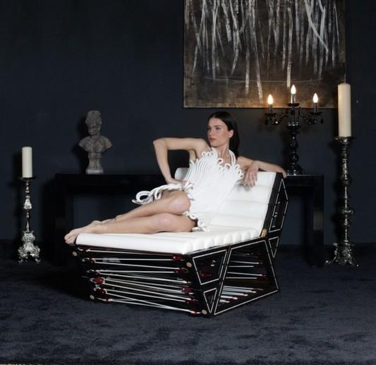 comfortable modern modular lounge chair design