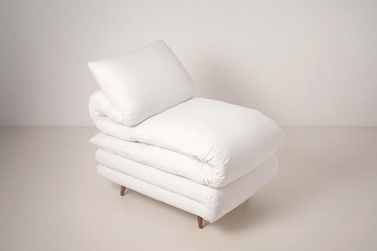 Comfortable Innovation Sleeping Chair Design by Daisuke Motogi