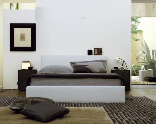 comfortable and elegant contemporary master bedroom design ideas