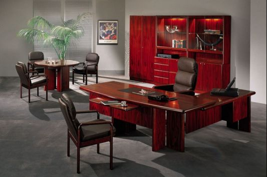 Contemporary Executive Office Furniture Commodore By Dyrlund Home