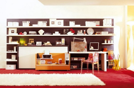 Office Furniture: Modern Home Office Furniture Compact And Minimalist Design