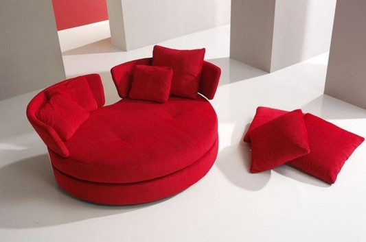 Versatile Romantic Red Sofa Lounge, Myapple by Felix Lopes ...