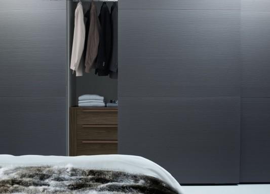 contemporary Italian sliding door wardrobes system