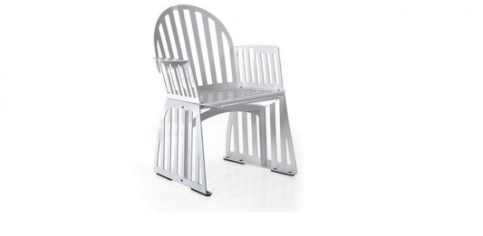 contemporary Dining Chair, Panel Base design