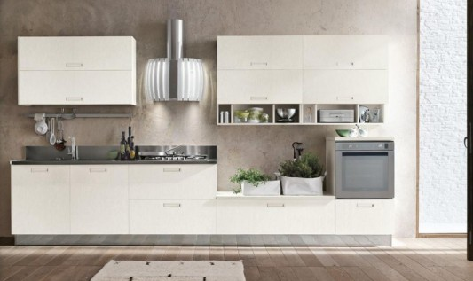 Contemporary And Modular Kitchen Cabinet Milly By Stosa Amazing Design