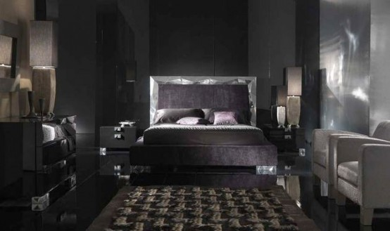 Why Not Choose Contemporary Black Bedroom Furniture Set As Your ...