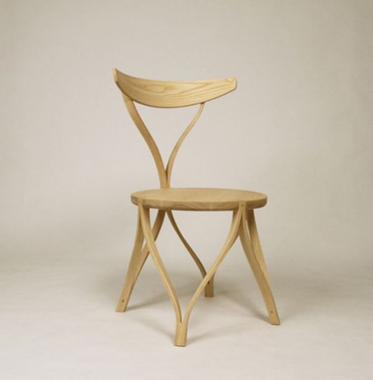 contemporary bentwood chair artistic design